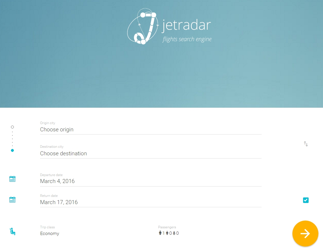 Search and compare flights on JetRadar. Well help you find best airfares - Google Chrome